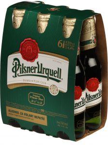 Pilsner Urquell, multipack 6x0,33l