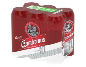 Gambrinus Originál 10, shrink 6x0,5l