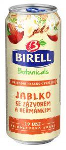 Birell Botanicals Jablko se Zázvorem a Heřmánkem, plech 0,4l