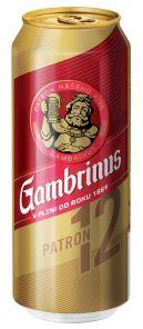 Gambrinus Patron 12, plechovka 0,5l