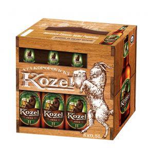 Velkopopovický Kozel 11, multipack 8x0,5l