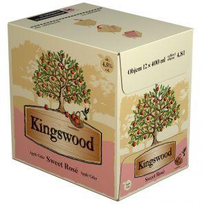 Kingswood Sweet Rosé, multipack 12x0,4l