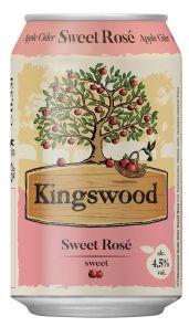 Kingswood Sweet Rosé, plech 0,33l