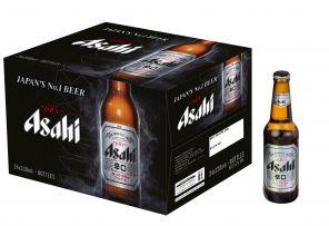 Asahi Super Dry, karton 24x0,33l