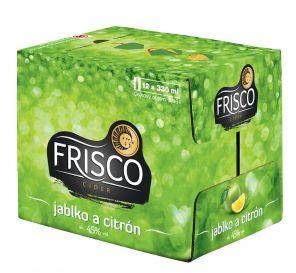 Frisco Jablko & Citrón, multipack 12x0,33l