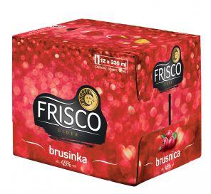 Frisco Brusinka, multipack 12x0,33l