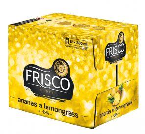 Frisco Ananas & Lemongrass, multipack 12x0,33l