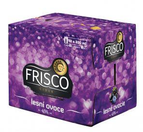 Frisco Lesní ovoce, multipack 12x0,33l