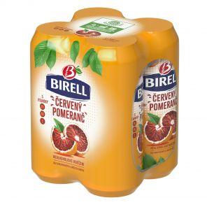 Birell Červený Pomeranč, shrink 4x0,5l