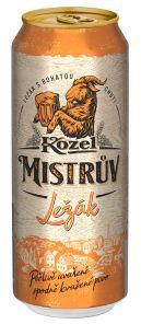 Kozel Mistrův Ležák, plech 0,5l